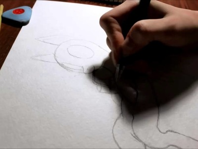 MLP - How I draw Rainbow Dash(sketch part)