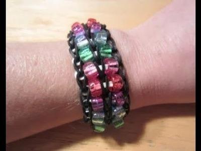 Rainbow Loom and Loom Bands NEW Beautiful Rainbow Loom Bracelet