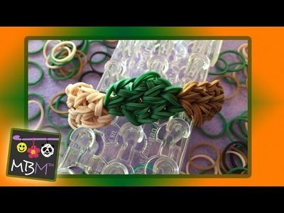 Rainbow Loom Bands Autumn Leaves Bracelet | Tutorial