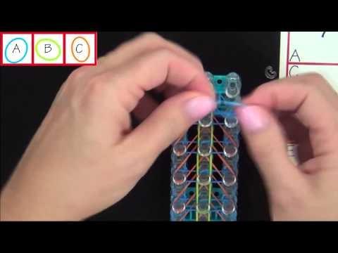 Rainbow Loom® Bird of Paradise Bracelet - Advance Level - Loom Bands Channel