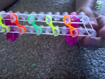 Rotini rainbow loom bracelet