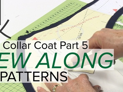 Sewing a Coat, A Sew Along. Part 5, Transferring the Sewing Pattern Markings