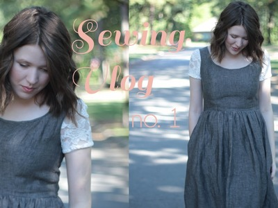 Sewing a Vintage Inspired Dress   Sewing Vlog. No. 1