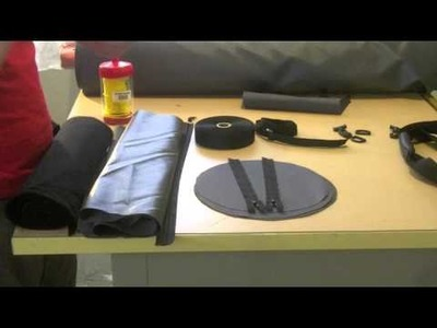 Sewing for guys: Make your own duffel bag  - part 1