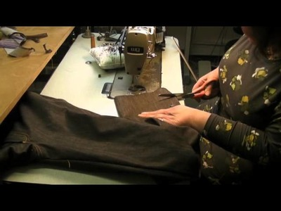 Sewing Tutorial - How to make Jeans Finale - Part 7 - Belt Loops & Hems