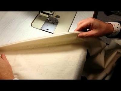 Shawl Collar Construction part 2: sewing collar