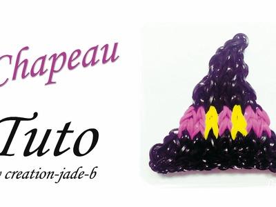 Tuto Rainbow Loom - Halloween Chapeau de Sorcière (Witch) !