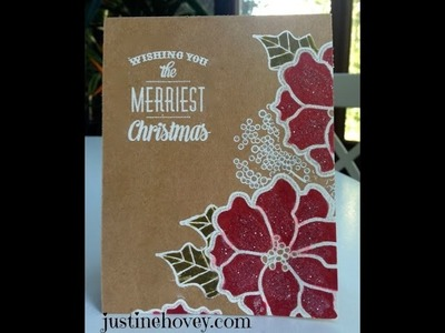 12 Days of Christmas Card Tutorials -  *Day 1*