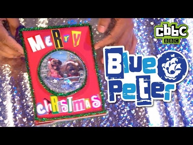CBBC: Blue Peter - How to make your own Christmas Card