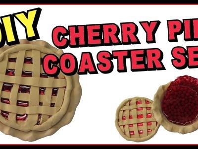 Cherry Pie Coaster DIY ~ Another Coaster Friday Craft Klatch