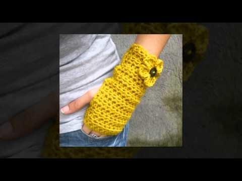 Crochet pattern for ear muffs