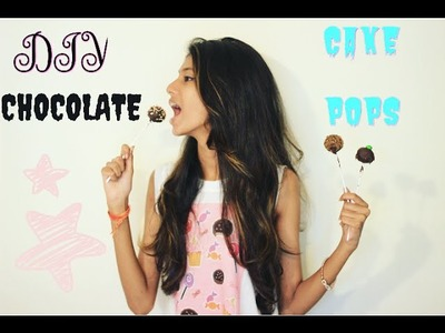 DIY CHOCOLATE CAKE POPS|| MANSI||