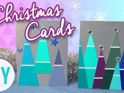DIY Christmas Cards! Cute & Easy