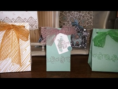 DIY Gift Bag  with the Gift Bag Punch Board