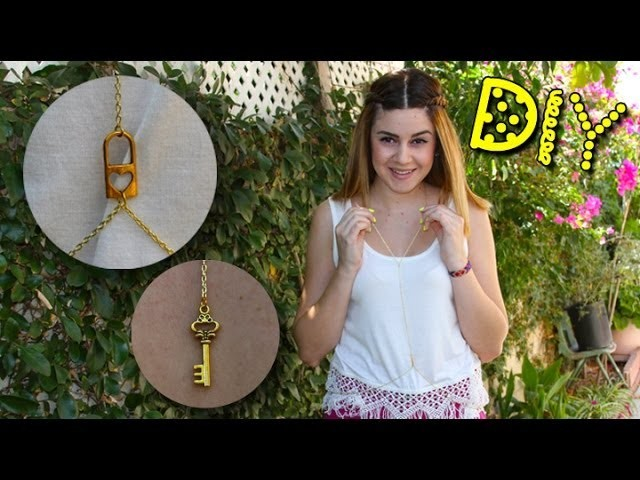 DIY Heart Lock Body Chain || Lucykiins