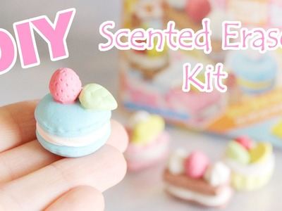 DIY Scented Eraser Kit │ Kutsuwa Japanese French Pastry Set