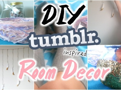 DIY Tumblr Room Decor! Cheap & Easy