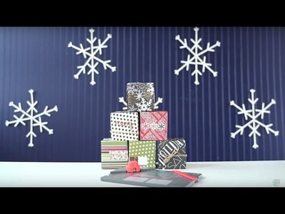 Easy DIY Holiday Gift Boxes