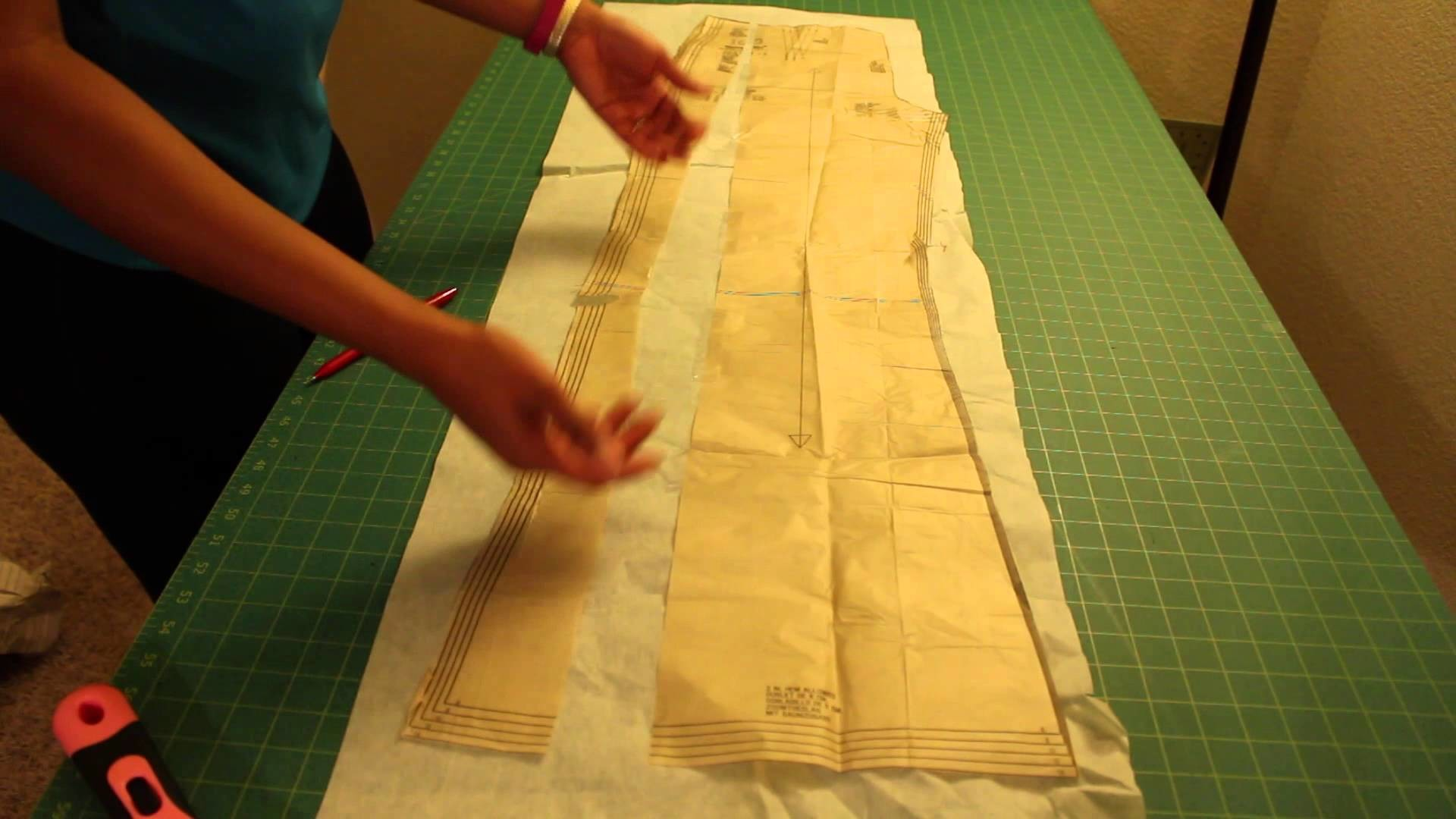Fitting #1 - How to Widen a Sewing Pattern