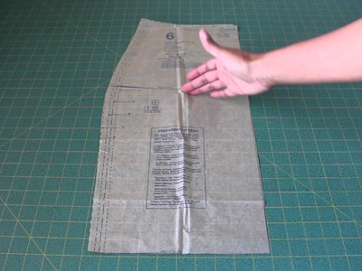 Fitting #2   How to Lengthen a Sewing Pattern