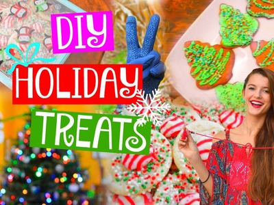 Fun & Easy DIY Holiday Treat Ideas! ♡ 2015! | Tatiana Boyd