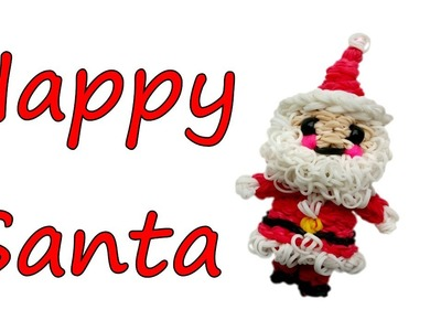 Happy Santa Claus Tutorial by feelinspiffy (Rainbow Loom)
