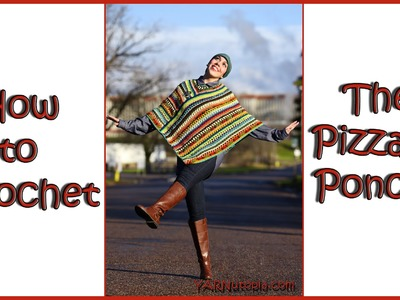 How to Crochet The Pizzazz Poncho