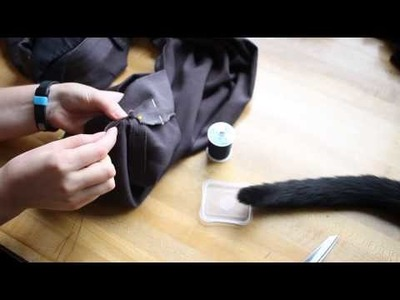 How to Hem Dress Pants (With Cuffs) (Sewing Tutorial)