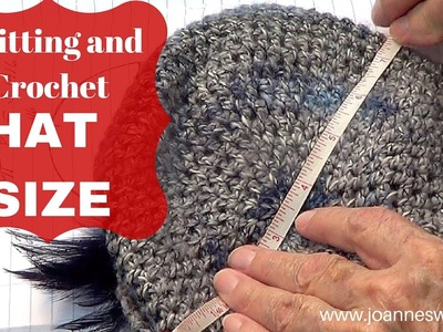 How To Knit A Hat: Calculate Hat Size  |Knitting and Crochet