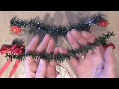 How to Make a Christmas Paper Garland
