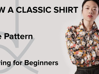 How to Sew a Shirt, Sewing for Beginners, Part 1