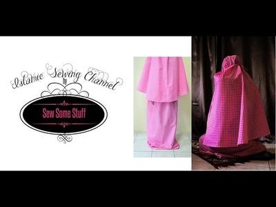 Islamic Prayer Garment Sewing Tutorial