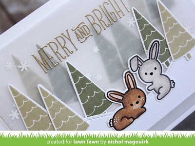 Lawn Fawn   Christmas Layered Scene Cards