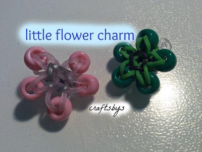 Little Flower Charm Monster Tail Tutorial Rainbow Loom