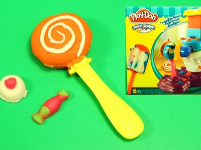 Play-Doh Sweet Shoppe Perfect Pop Maker DIY Ice Cream Cones, Popsicles, Sundaes, Playdough desserts