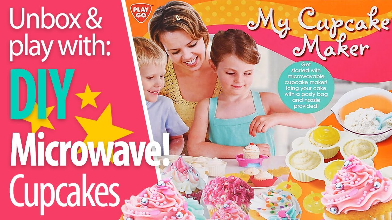 PlayGo My Cupcake Maker - DIY Delicious Microwave Cupcakes!