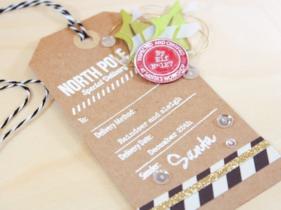 Quick & Easy Holiday Tags - The 25 Tags Of Christmas Ellen Hutson