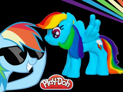 Rainbow Dash Play Doh My little Pony how to