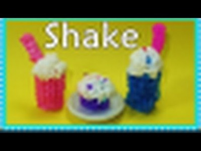 Rainbow Loom Charms: 3D Shake. Frappe Charm (Barbie or American Girl Doll Accessory)