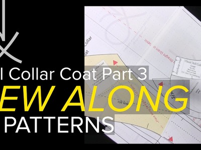 Sewing a Coat, A Sew Along. Part 3, Taping Up & Cutting Out the Sewing Pattern
