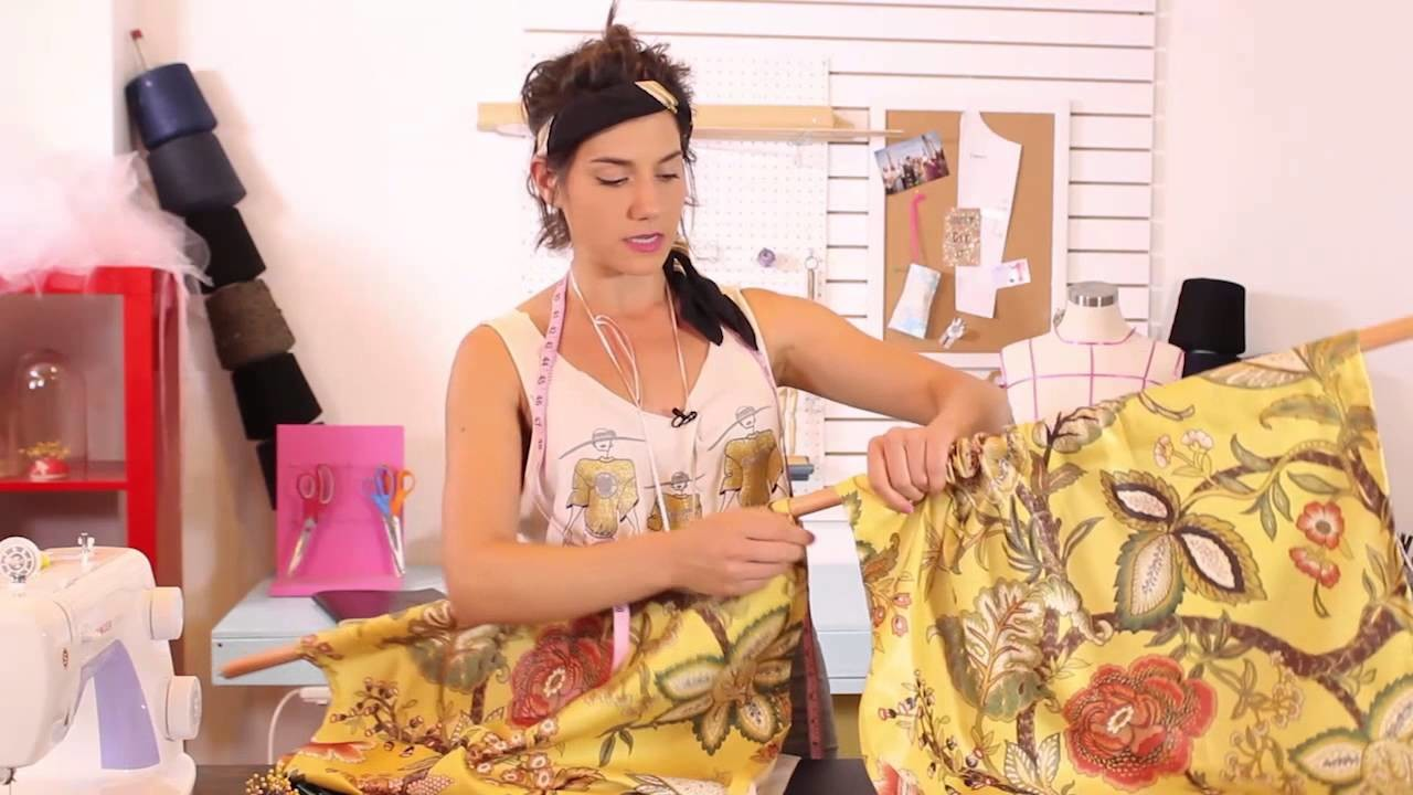Sewing For The Family - How To Make Your Own Curtains - Part 19