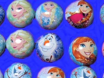 Surprise Disney Frozen Christmas Ornaments Toys Eggs Anna Elsa MyLittlePony  Wikeez