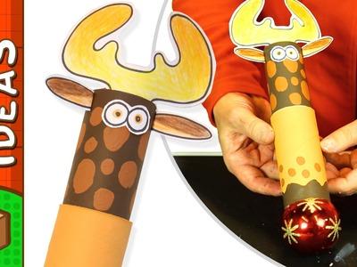 Toilet Roll Reindeer Gift Wrap | Christmas Box Ideas With Øistein Kristiansen