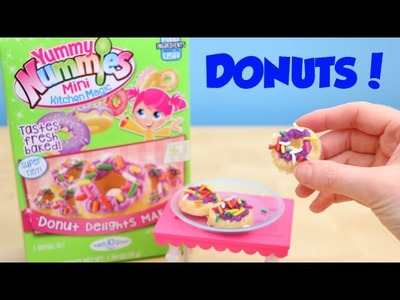 Yummy Nummies Mini Kitchen Magic Donut Delight Maker DIY Kit