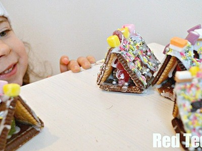 Christmas Crafts - No Bake Gingerbread House