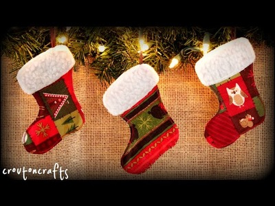 Christmas Stocking Ornaments!!