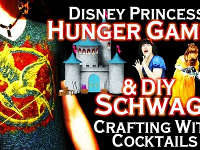 Disney Princess Hunger Games - DIY Hunger Games Schwag - Crafting With Cocktails (3.07)
