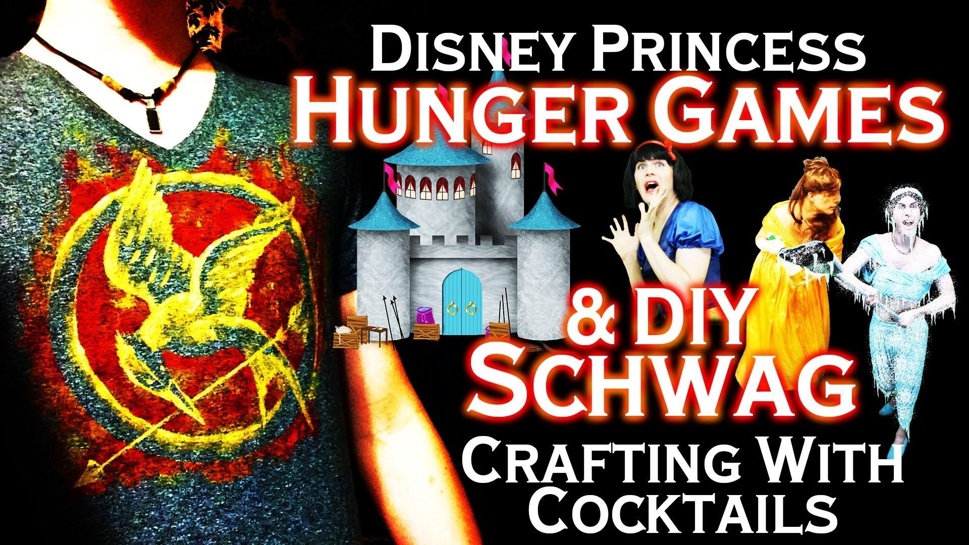 Disney Princess Hunger Games - DIY Hunger Games Schwag - Crafting With Cocktails (3.07)