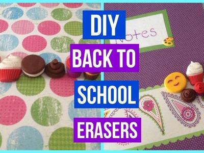 DIY Back to School Erasers!