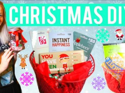 DIY Christmas Gifts 2015! Simple DIYS for TEENS!